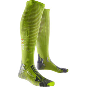 X-Bionic Effektor Accumulator Competition Miehet juoksusukat , vihreä
